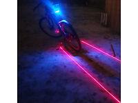 Waterproof LED bicycle light