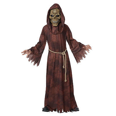 NWT Totally Ghoul Boys sz. XL Ancient Reaper Halloween Costume scary $35.99