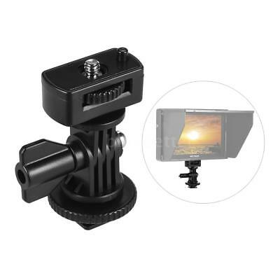 "Hot Shoe Mount Adapter+1/4"" Screw for Viltrox DC-90 Monitor Video Light"