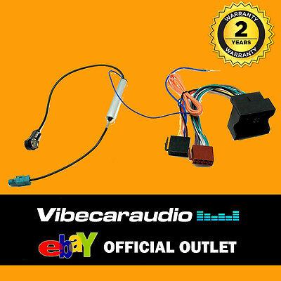 PEUGEOT 807 CD RADIO STEREO HEADUNIT ISO WIRING HARNESS LEAD ADAPTOR CT20PE03