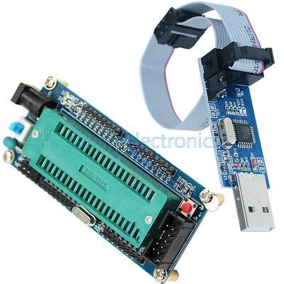 Atmega32 Atmega16 Minimum System Board 10pin Usb Isp Usbasp Programmer Cable Sf
