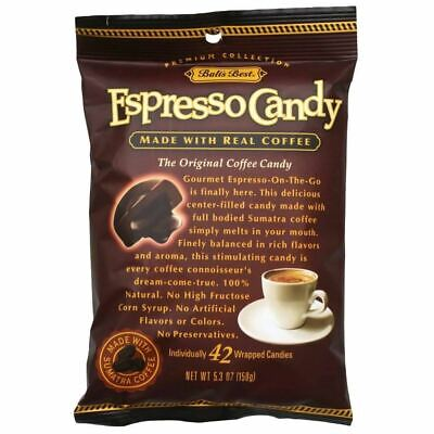 Bali's Best Espresso Coffee Hard Candy, 5.3