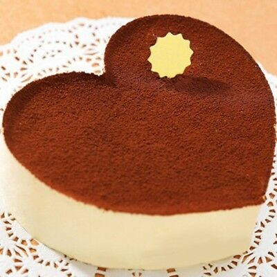 Cake Tin Non Stick Spring Form Loose Base Baking Pan Tray DIY  Heart-Shaped DL5 - Heart Shaped Springform Pan