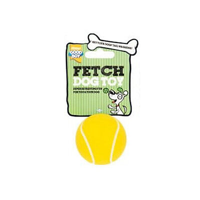 Good Boy All Sports Tennis Ball Small Dog Toy | Puppy Fetch Chew Bouncy Durable