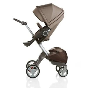 Brand New Stokke Xplory Stroller Brown Color