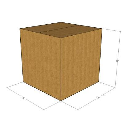 10 -12 X 12 X 12 Corrugated Boxes -new For Moving Or Shipping Needs