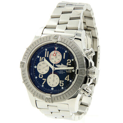 Breitling Super Avenger A13370 48mm Automatic Chronogaph Stainless Steel Watch