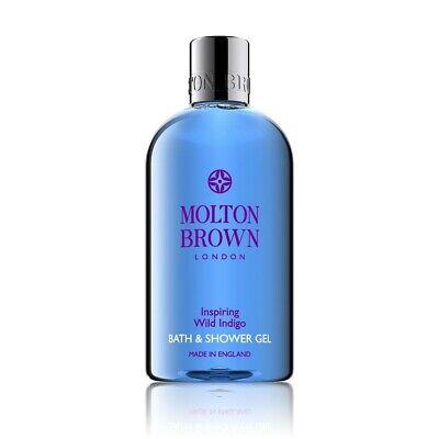 Molton Brown Inspiring Wild Indigo Bath And Shower Gel 300ml - BRAND NEW