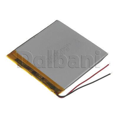 New 3.7V 3000mAh Internal Li-ion Polymer Built-in Battery 72x72x3mm 29-16-0690