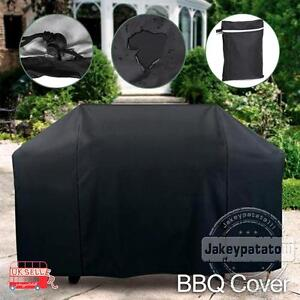 145cm BBQ Cover Heavy Duty Waterproof Gas Barbecue Grill Outdoor Protector