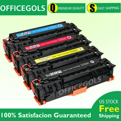 4PK for HP CC530A CC531A CC532A CC533A