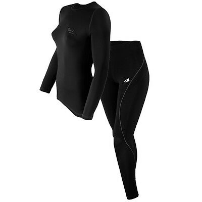 ROUGH RADICAL 2in1 Damen Set Funktionsshirt Hose Ski Funktionswäsche EFFICIENT+