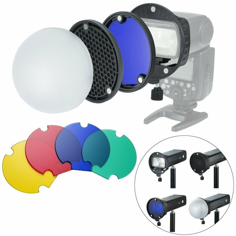 Diffuser Honeycomb Magnetic Speedlight Band Omnibounce for godox flash V1 V850II