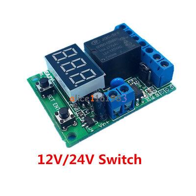 12V/24V Control delay Voltage detection/Upper and lower voltage range switch NEW Low Voltage Detection