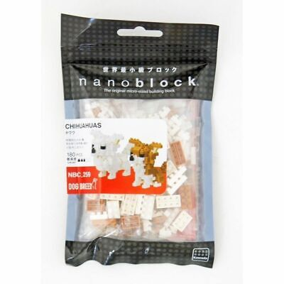 NBC259 Nanoblock Chihuahua Dog Building Blocks Bricks Toy 180 pieces 12+ Years
