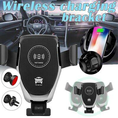 10W Qi KFZ Auto Wireless Ladegerät Handy Halterung Halter Induktive Ladestation ()