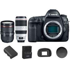 Canon EOS 5D Mark IV DSLR Camera Body 24-105mm f/4L IS II USM + 100-400mm USM II