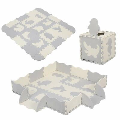 Baby Play Mat, Kid's Puzzle Exercise Play Mat Soft Foam Interlocking Floor Tiles