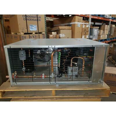 Russel Rlh215l44-d 2hp Minicon Air Cooled Outdoor Refrigeration Condensing Unit