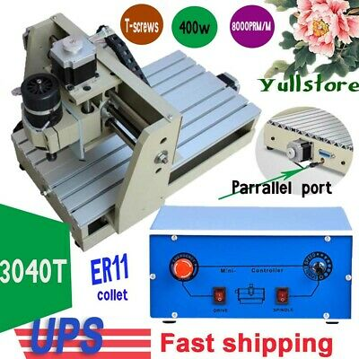 400w Router 3040 Engraver Wood Milling Machine Engraving Drilling 3axis Desktop