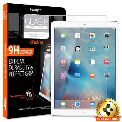 "Spigen® For Apple iPad Pro 12.9"" [GLAS.tR.SLIM] Tempered Glass Screen Protector"