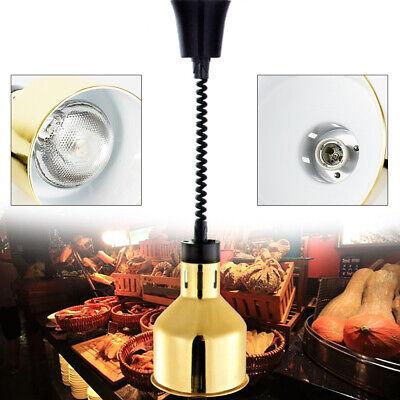 New Heat Lamp Food Buffet Warmer 250w - 220v Hot Light Catering Insulation Gold