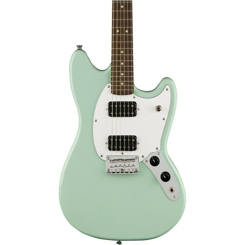 Squier Bullet Mustang HH Limited Edition Electric Guitar Surf Green