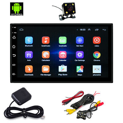 Android 8.0 AUTORADIO mit Navigation NAVI BLUETOOTH USB GPS 2 doppel DIN