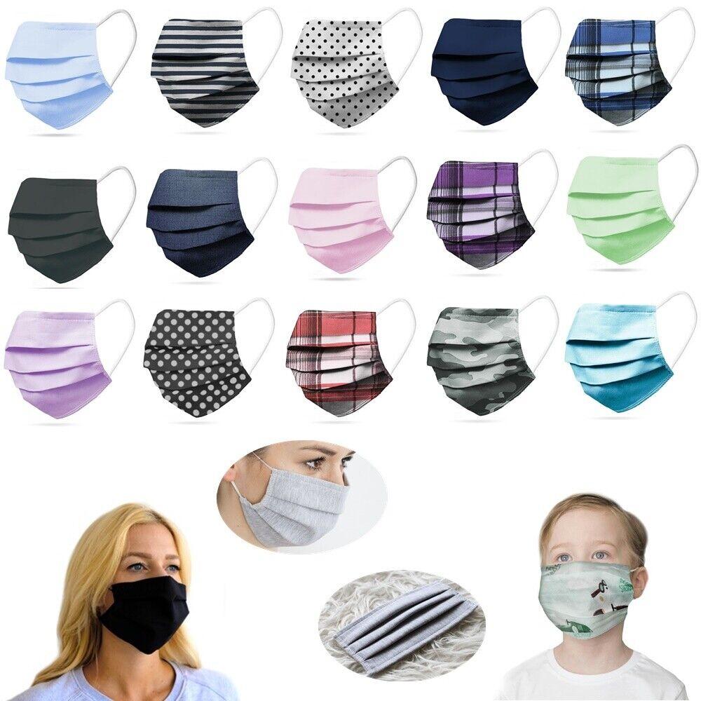 Maske Behelfsmaske Gesichts Nasen Mund Maske Stoffmaske Baumwolle Mundbedeckung