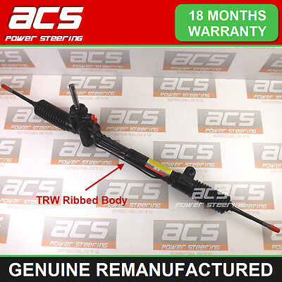 VAUXHALL ASTRA G MK4 POWER STEERING RACK 1998 TO 2004 - RECONDITIONED (Ribbed)