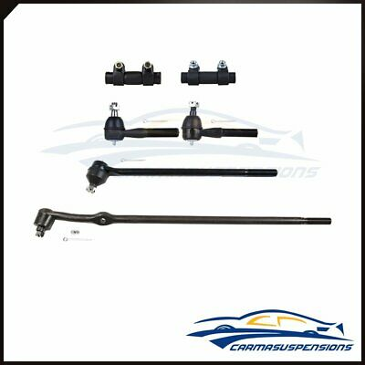 Fit for Ford F-100 150 250 350 Bronco 6 Suspension Steering Tie Rod Ends Kit