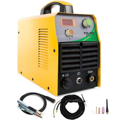 Tig-200 220v Dc Tig Welder Inverter 200amp Hf Igbt Stainless Tig Welding Machine