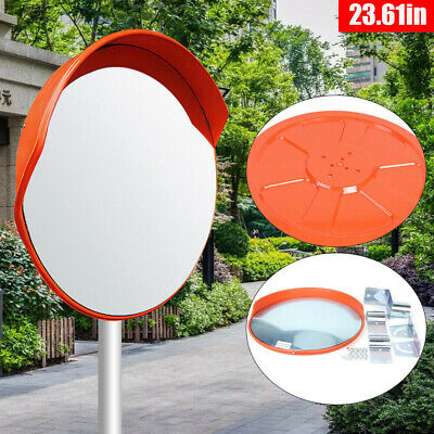23wide Angle Security Convex Pc Mirror Outdoor Road Traffic Driveway Safety Usa