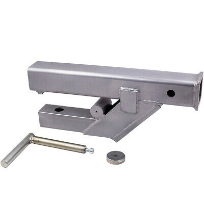 Clamp On Trailer 2 Receiver Hitch For Bobcat Deere Tractor Bucketskid Steer