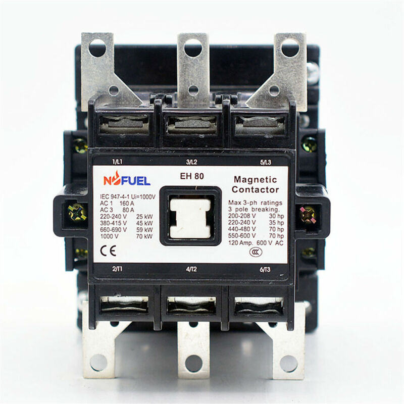 EH-80-30-22 Contactor 120V Replace directly for ABB EH Series Contactor EH-80-30