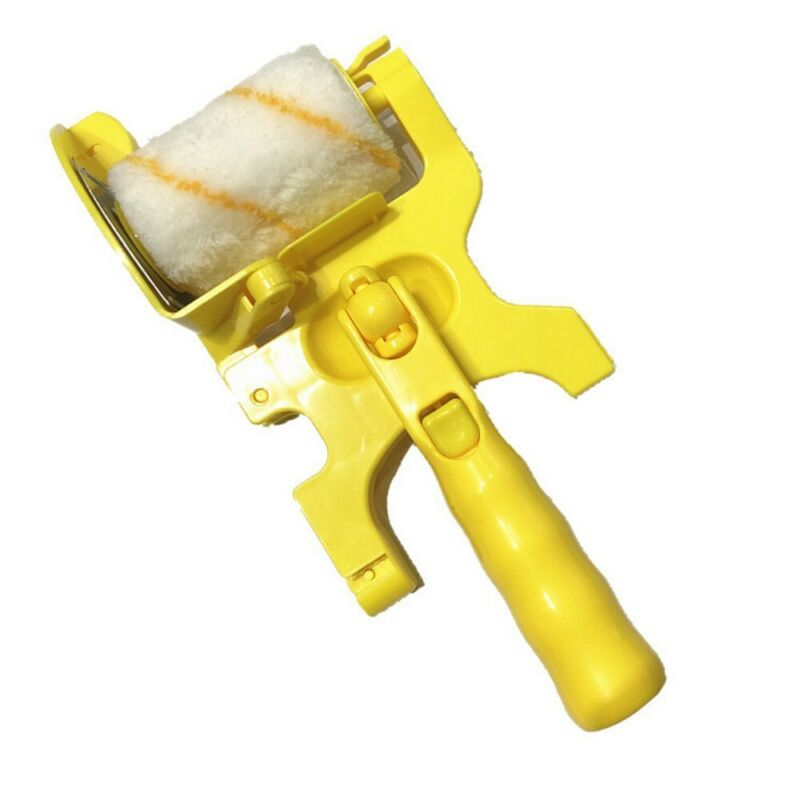 Clean Cutter Roller Brush Paint Edging Tool For Home Baseboard Door Wall Ceiling