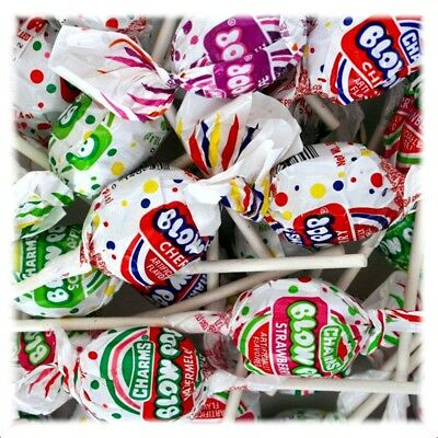 Charms Assorted Blow Pop Lollipops 2 Lb Bulk Family Pack
