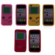 iPhone 4 Silicone Case Gameboy