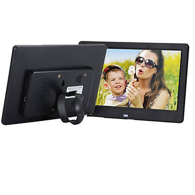 "10.1"" HD High Resolution Digital Picture Photo Frame + Remote Controller Black"