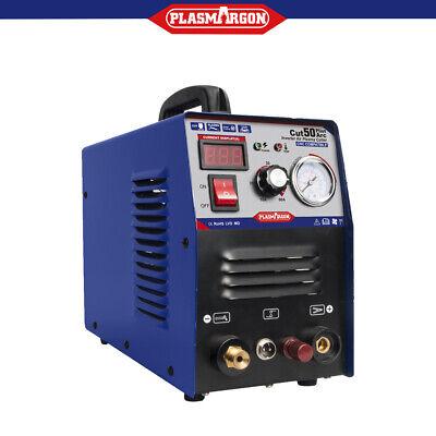 Air Plasma Cutter Pilot Arc Cnc Compatible Dc Interver 50a Dual Voltage 110220v
