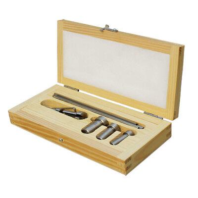 Set Of 9 Pcs High Speed Steel Keyway Broach Set Standard Cutting Bushings Shim