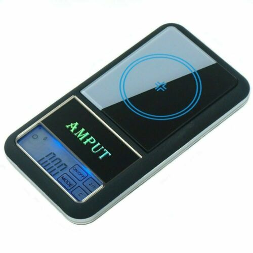 AMPUT 0.01g x 200g Digital Pocket Scale Touch Screen