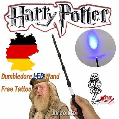 NEU  Harry Potter Dumbledore Magisch LED Leuchtzauberstab Geschenk zauberstab
