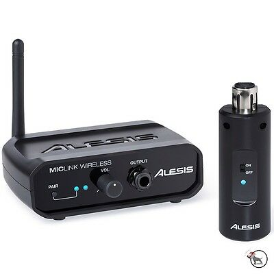 Alesis MicLink Digital Wireless Microphone Adapter Karaoke Presentation Wedding