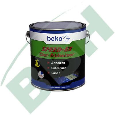 Beko Speed-Ex Der Abbeizer 2,5 L Dose