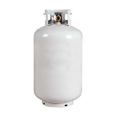 NEW 30 lb. Propane Cylinder - Vertical Tank with OPD Valve - Free Shipping!