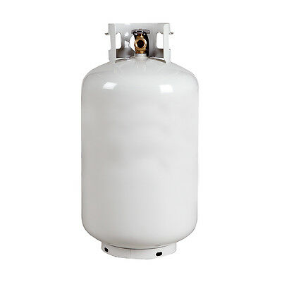 New 30 Lb. Propane Lpg Cylinder - Vertical Tank With Opd Valve - Free Shipping