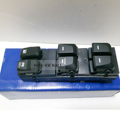 Genuine Front Main Switch Left 935712S000 for 2010-2015 Hyundai Tucson