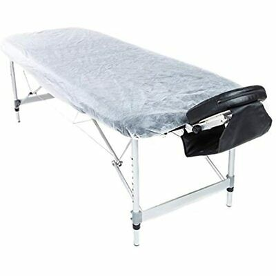 Lifesoft Disposable Fitted Massage Table Sheet Waterproof Facial Bed Cover 10
