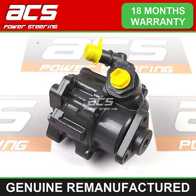 BMW 5 SERIES E39 525 td, tds POWER STEERING PUMP - GENUINE RECONDITIONED